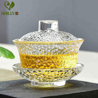 Heat Resistant Glass Tea Cup Fantastic Crystal Coffee Cup Unique European Classic Style Glassware High Quality