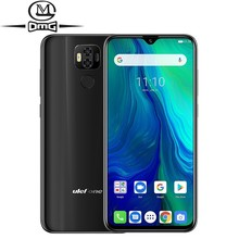 """Global version Ulefone power 6 6350mah Android 9.0 LTE 4G Smartphone Helio P35 Octa-core 6.3"""" 4GB+64GB face ID NFC Mobile Phones"""