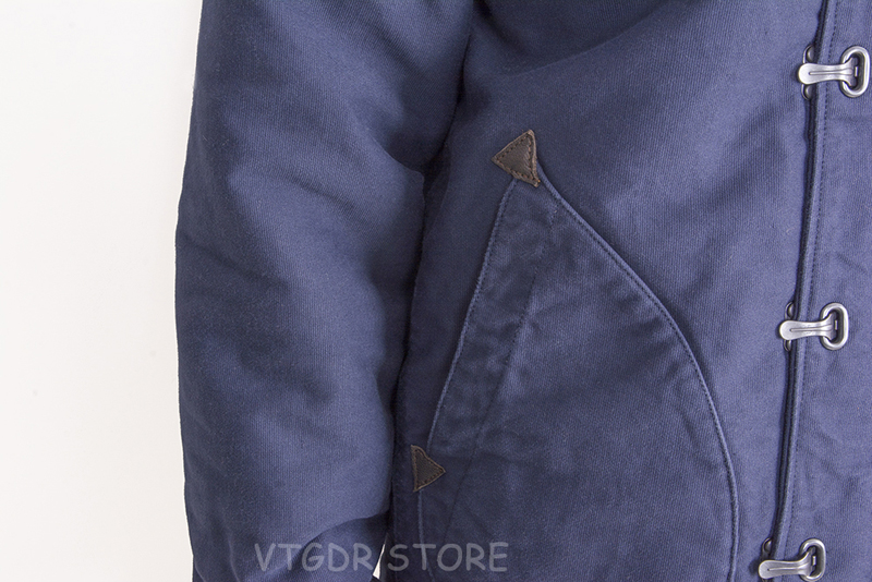 NON STOCK Observer N-1 Deck Jacket Winter Vintage Men/'s Sherpa Lined Hooded Coat