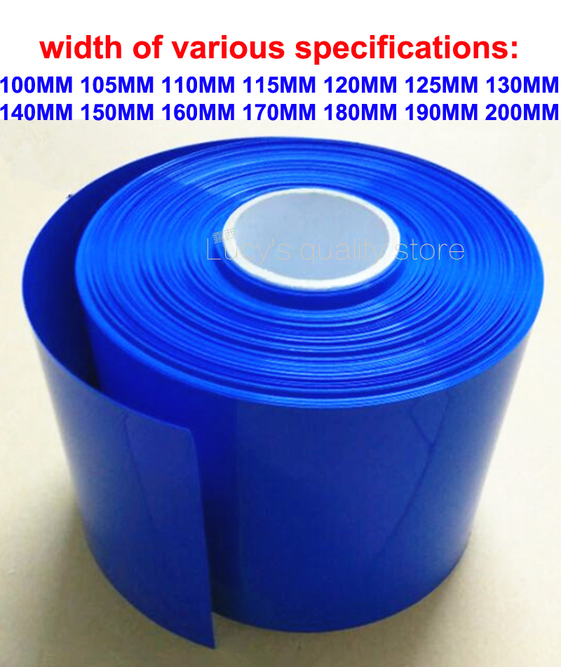 1kg Lithium Battery Polymer Battery Special PVC Heat Shrink Tubing Battery Skin Heat Shrink Film Battery Packing Insulation Film