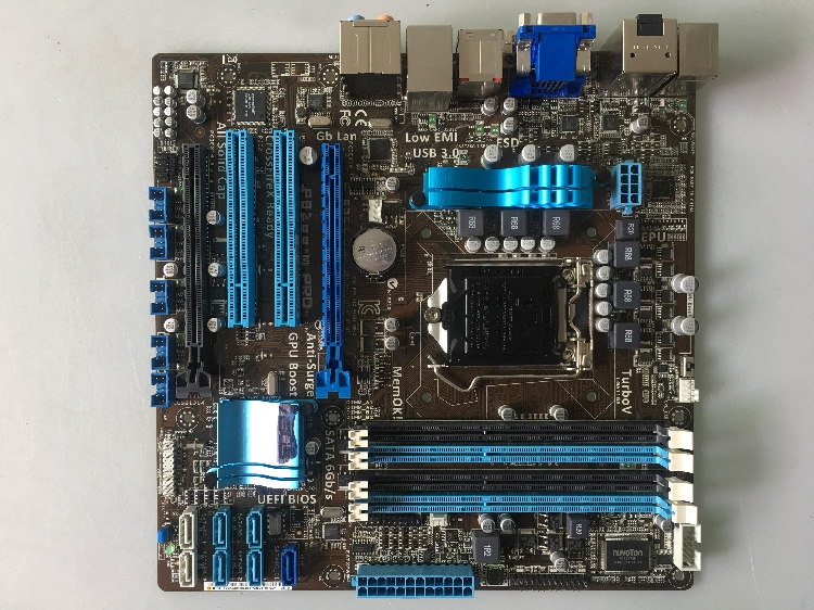 original motherboard for ASUS P8Z68-M PRO LGA 1155 DDR3 for I3 I5 I7 CPU 32G Z68 desktop motherboard Free shipping все цены
