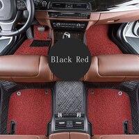WLMWL Car Floor Mats For Suzuki all models grand vitara vitara jimny swift SX4 Kizashi car styling Car Carpet Covers floor mats