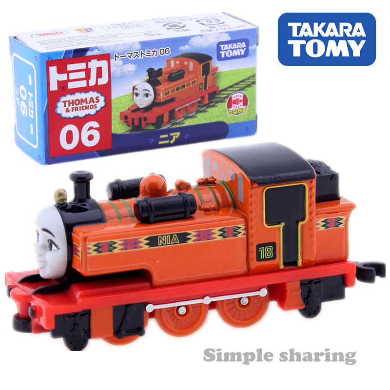 Takara Tomy Tomica 06 NIA The Tank Engine Train model kit Mini  Diecast Metal baby toys for Children hot pop kids dolls