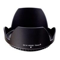 Free Shipping 72MM Reversible Petal Flower Lens Hood For Canon Rebel T5i T4i T3i T3 T2i