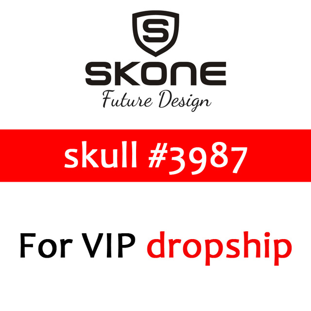 skone#3987 Pre-Sale Products Skone Skull Watch Men Quartz Watches Only For VIP dropship Customers