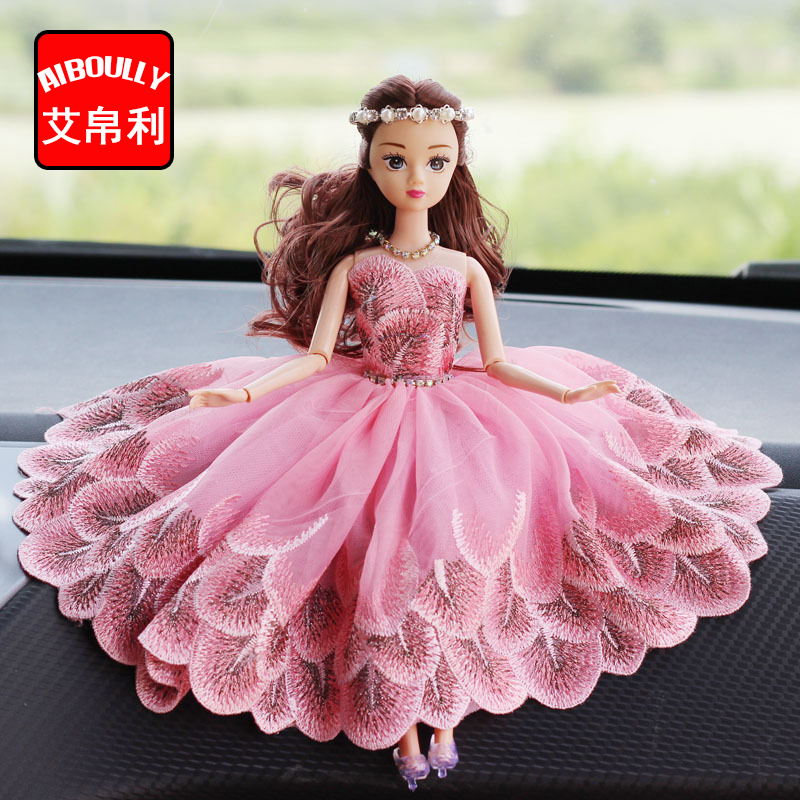 Fashionable Wedding Bridal Dolls Car Decoration Car Creative Cute Decorative Handmade Gifts Gifts ...