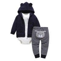 2017 Baby Girl Clothing Spring Autumn Girl Clothing Baby Girl Clothing 3 Unids Set Baby Clothing