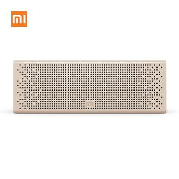 Mi Portabel Bluetooth Speaker, Speaker Luar Nirkabel dengan HD Suara Built-In Mic, Hands Free Speakerphone Player untuk Rumah Trav
