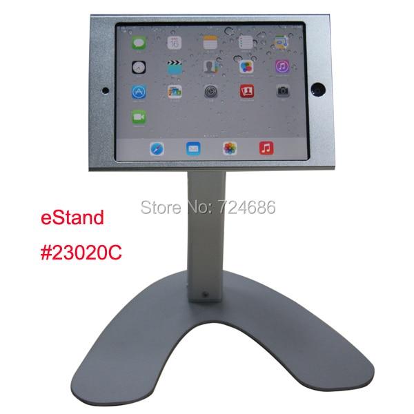 ФОТО for mini iPad table holder hard case with lock desktop stand  mount  retail restaurant menu ording shop bank hotel trade fair