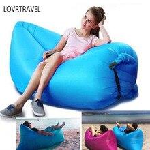 LOVRTRAVEL New Air Cushion Lazy People Inflatable Cushions Portable Travel Beach Big Cushions Beach Air Sofa Sleeping bag GU13