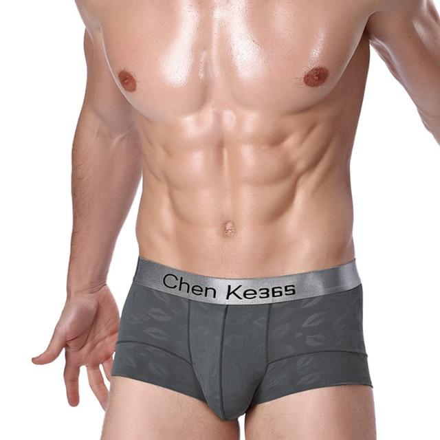 Sexy silk boxers