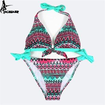 Swimwear Women 2016 Print Floral Swimsuit Push Up Bikini Set  Bathing Suits Brazilian Bikinis Women Swimwear Beach Wear Biquini 10