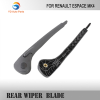 WINDOW CAR BACK REAR WIPER BLADE RENAULT ESPACE MK4 REAR WINDSCREEN WIPER ARM AND BLADE SET BRAND NEW 2002-2012