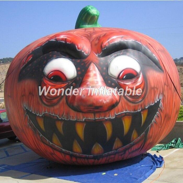 Offre spéciale nouvelle citrouille halloween gonflable géante conçue pour la décoration de jardin