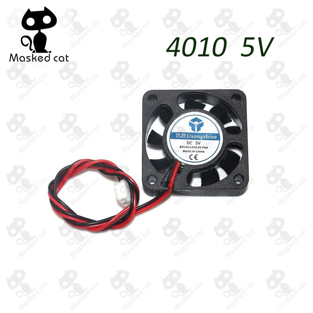 12V 30mm 3cm 30x30x10mm Ball Bearing Brushless 3D Printer Cooling Fan 1m cable