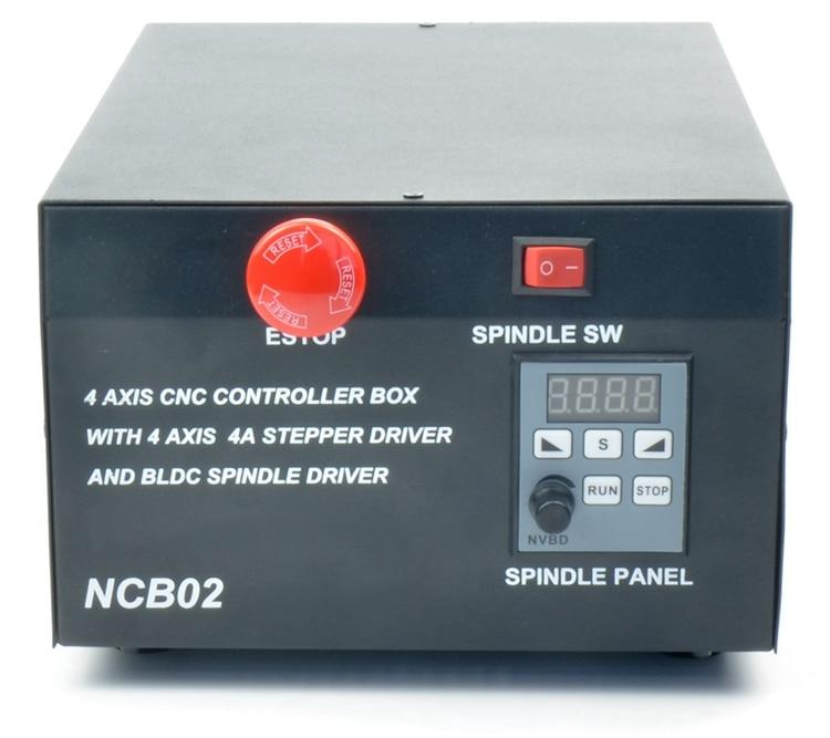 CNC engraving machine control box USB interface CNC Controller for diy cnc router
