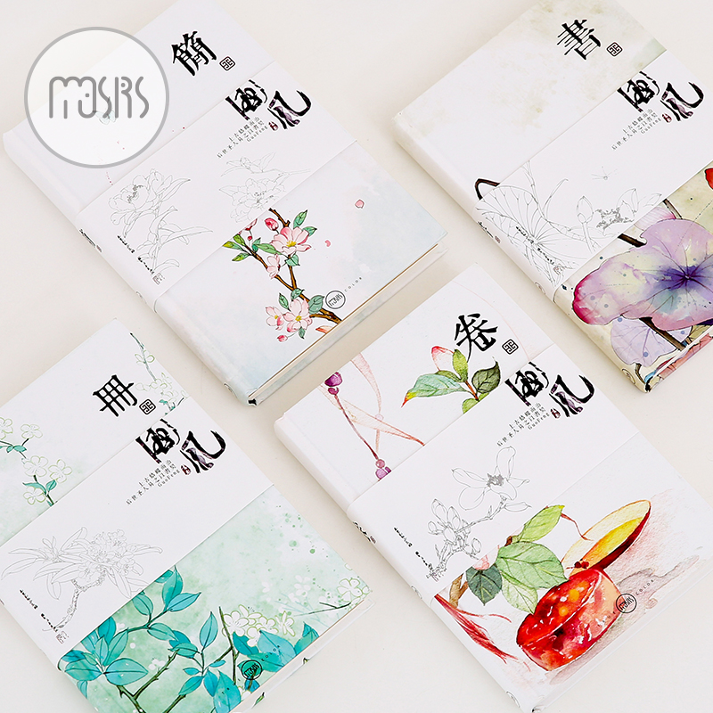 Hand Monthly weekly planner A5 Notebook diary 112 sheets 4 style pages schedule Office school supplies gift new arrival weekly planner thumb girl notebook creative student schedule diary book color pages school supplies no year limit