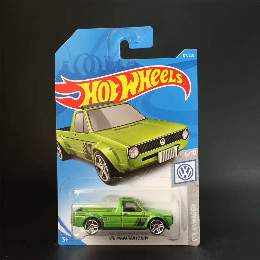 2019 Hot Wheels 1:64 Car VOLKSWAGEN GADDY  Collector Edition Metal Diecast Model Cars Kids Toys Gift