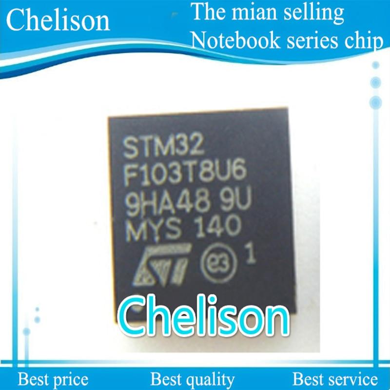 STM32F103T8U6 STM32 F103T8U6 QFN-36 ARM Microcontrollers – MCU 32BIT Cortex M3 FL PERFORMANCE LINE