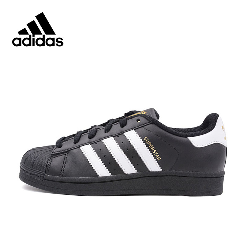 Original New Arrival Adidas Official Superstar Classics Women's Skateboarding Shoes Sneakers Classique Shoes Platform adidas original new arrival official neo women s knitted pants breathable elatstic waist sportswear bs4904