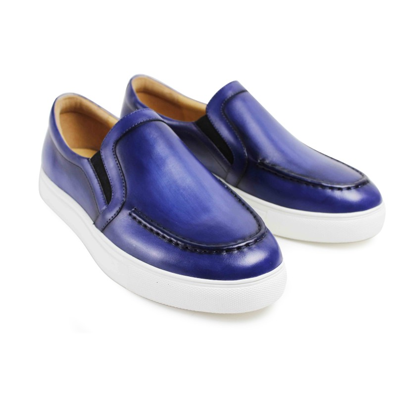 Vikeduo 2019 Summer New Men's Loafers Shoes Genuine Leather Casual Handmade Zapato Masculino Solid Sports Brand Male Shoe Sapato
