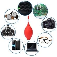 ANENG Flexible Cleaner Rubber Air Pump Lens Blower For Digital Camera Screen Dust Red