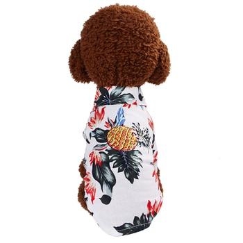 Dog Clothes Summer Beach Shirt Dog Cute  2