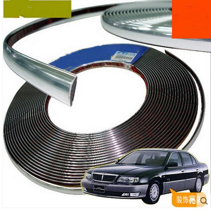 Car styling 10mmx15m decoration Sticker For Toyota Camry Corolla RAV4 Yaris Highlander Land Cruiser PRADO Vios Vitz Reiz succeed