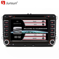 Junsun 7 Inch 2 Din Car Radio DVD GPS Player For VW Volkswagen Passat POLO GOLF