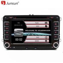 Junsun 7 pouce 2 Din Voiture Radio DVD GPS Lecteur Pour Siège/Altea/Toledo/Leon/Alhambra avec GPS Navigation/Bluetooth/FM/Canbus