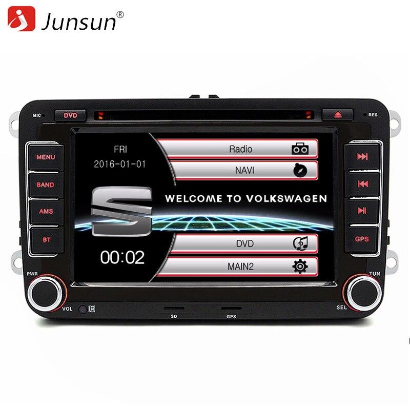 Junsun 7 inch 2 Din font b Car b font Radio DVD font b GPS b