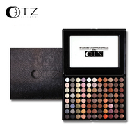 Cheap 88 Warm Colors Eyeshadow Palette Easy To Wear And Long Lasting With Brushes Inside Earth