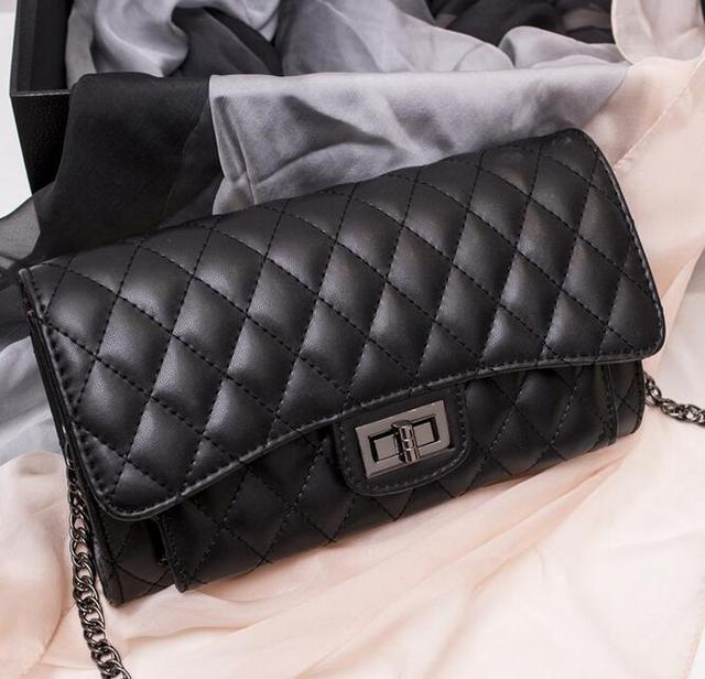 2016 качество, pu искусственная кожа модные стеганые цепь сумка через плечо  сумка сумки женские кошельки 26773e80c2b
