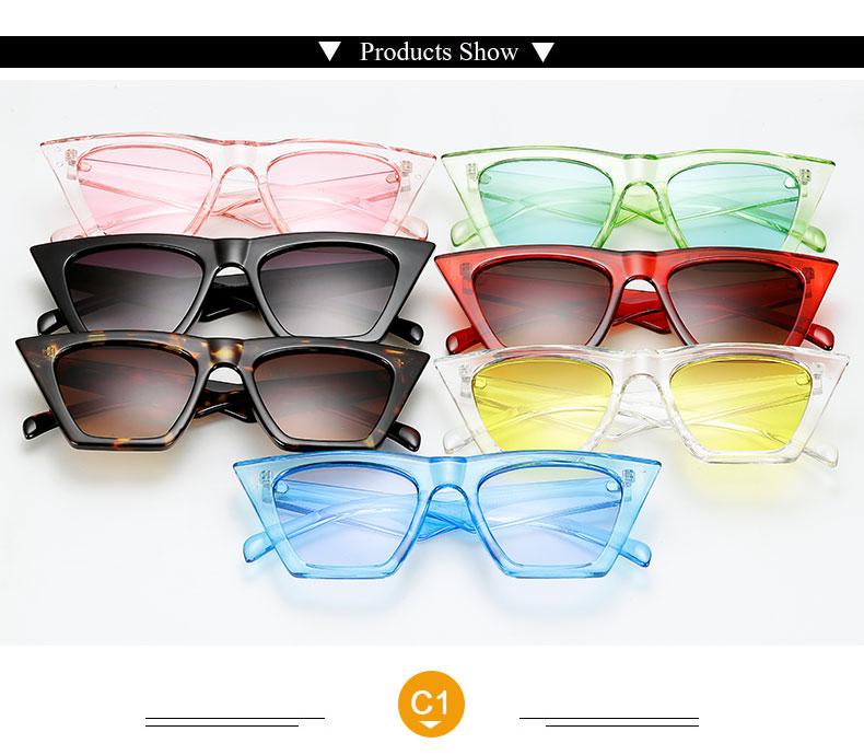 HTB1bxNmmb I8KJjy1Xaq6zsxpXa6 - AFOFOO Fashion Women Sunglasses Cat Eye Glasses Lady Brand Designer Retro Sun glasses UV400 Shades Eyewear Oculos de sol