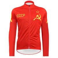 2020 cccp Radfahren Jerseys retro Langarm Mtb Kleidung classic Bike Tragen Kleidung Fahrrad Maillot Roupa Ropa De Ciclismo Hombre