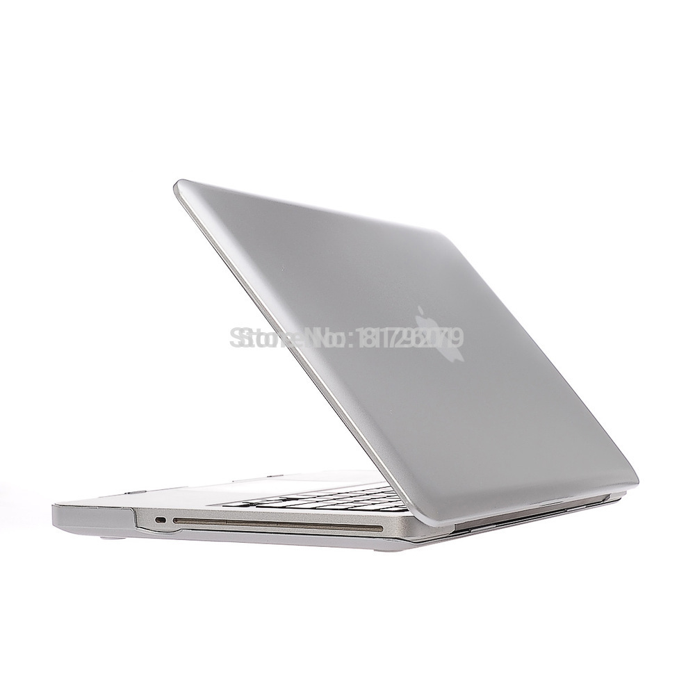 2015 3 in 1 Silver gold Sleeves Covers Cases for Macbook air 11 12 13 pro 15 retina+ US clear TPU+LCD without logo free shipping image
