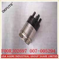 6 Pieces/ lot Injector Solenoid Valve Assembly F00RJ02697, electromagnetic valve F00RJ02697 common rail Solenoid
