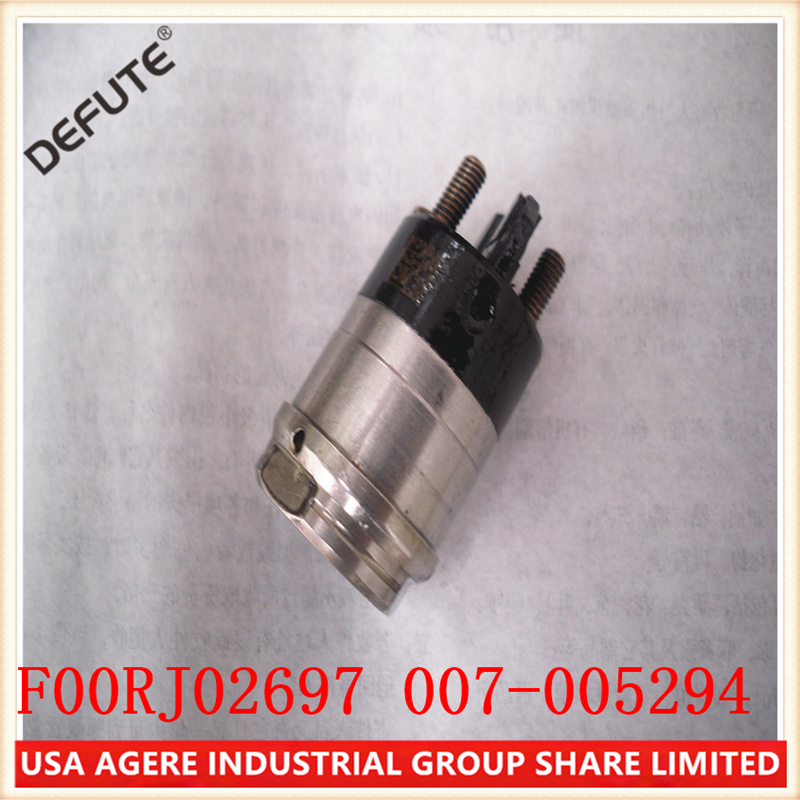 6 Pieces/ lot  Injector Solenoid Valve Assembly F00RJ02697  electromagnetic valve F00RJ02697 common rail Solenoid|Fuel Injector| |  - title=
