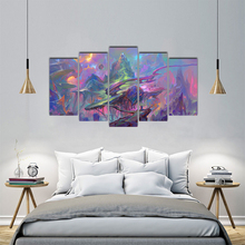 Modular Pictures Framework Home Decor HD Print Poster 5 Pieces Abstract  Canvas Painting Wall Art