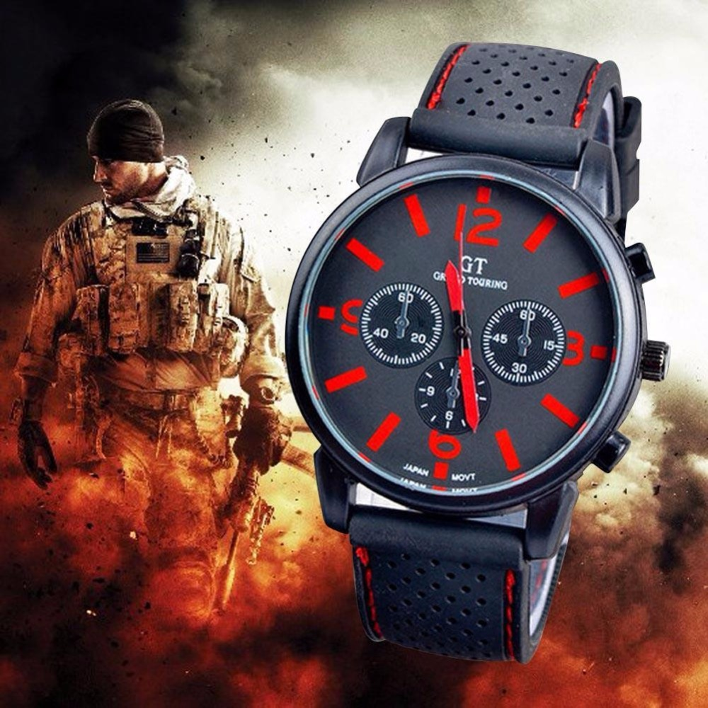2017 Army Racing Force Military Sport font b Men b font Officer font b Watches b