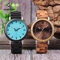 Бобо птица новый дизайн деревянные часы Деревянный ремешок кварцевые наручные часы для мужчин и женщин часы принимаем OEM Прямая поставка W * ...