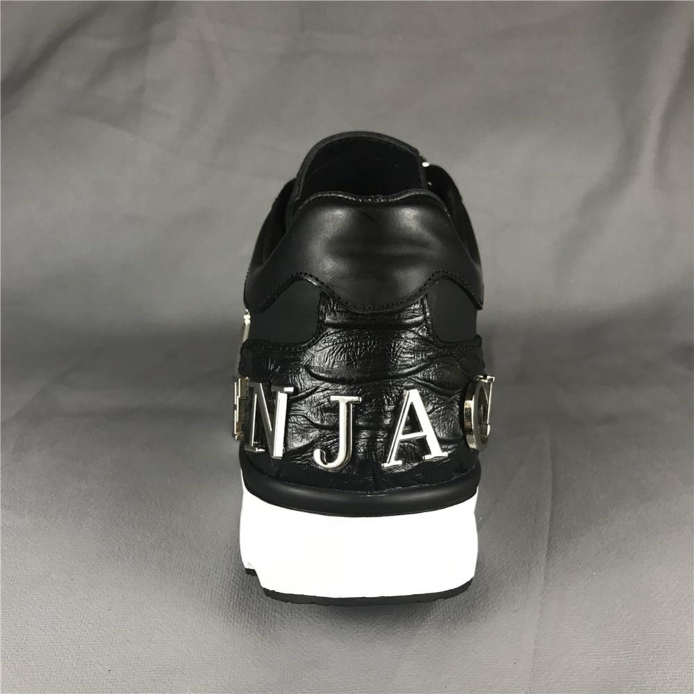 Original Skin F.N.JACK Männer Schuhe Laufende Mode Schädel Sneaker - Herrenschuhe - Foto 2