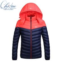 2016 autumn winter new down jacket men's Slim Hooded down jacket Men's casual Warm down coat jacket Size M-4XL