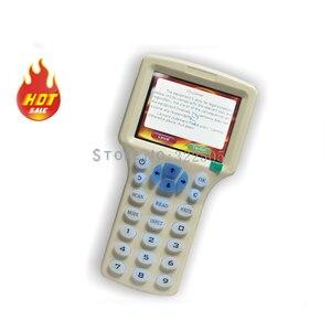 Image 2 - Englisch 10 frequenz RFID Kopierer ID IC Reader Schriftsteller kopie M1 13,56 MHZ verschlüsselt Duplizierer Programmierer USB ports