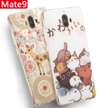 Huawei Mate 9 Cartoon Painted Case