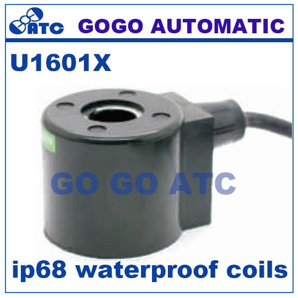 RüCksichtsvoll Gogo Nur Spule Für Ip68 Wasserdicht Spulen Magnetspule Bleisatz U1601x 22va/18 Watt 24vdc 12 V Dc 220 V Ac 110 V Ac Online Shop unterwasser