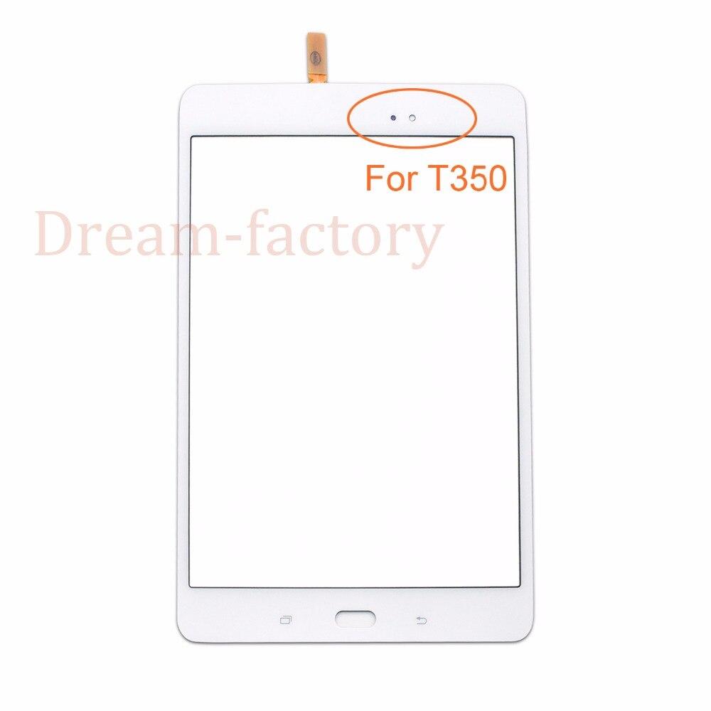 50 шт. Сенсорный экран планшета Стекло объектив с губкой для Samsung Tab A 8.0 t350 T355 Бесплатная DHL