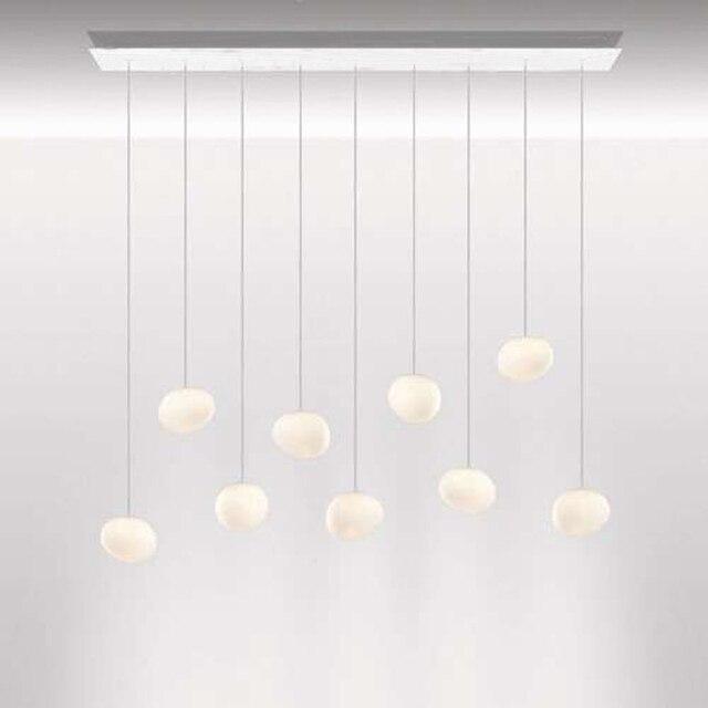 suspension lighting. Gregg Piccola 3/ 6/ 7/ 9 Heads Rectangle Multipoint Pendant From Foscarini Suspension Lighting