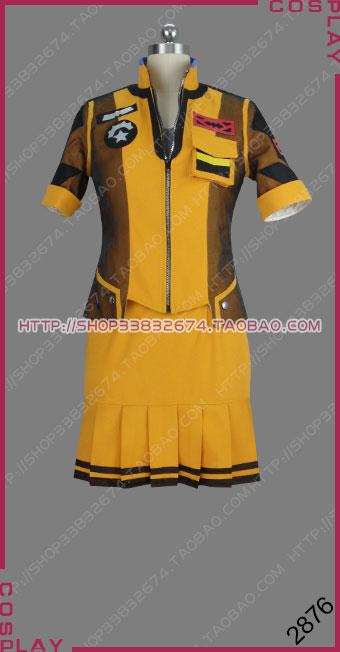 Sword Art Online: Fatal Bullet Third Person Shooter Role-Playing Game TPSRPG Argo Dress Outfit Cosplay Costume S002