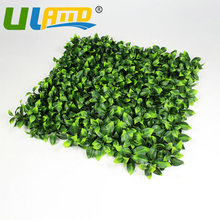 ULAND Outdoor Artificial Boxwood Hedge Privacy Shade Fence 10x10  Ivy Synthetic Grass Mats Garden Yard Balcony Ornament